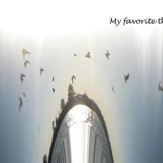 my favorites things art cover